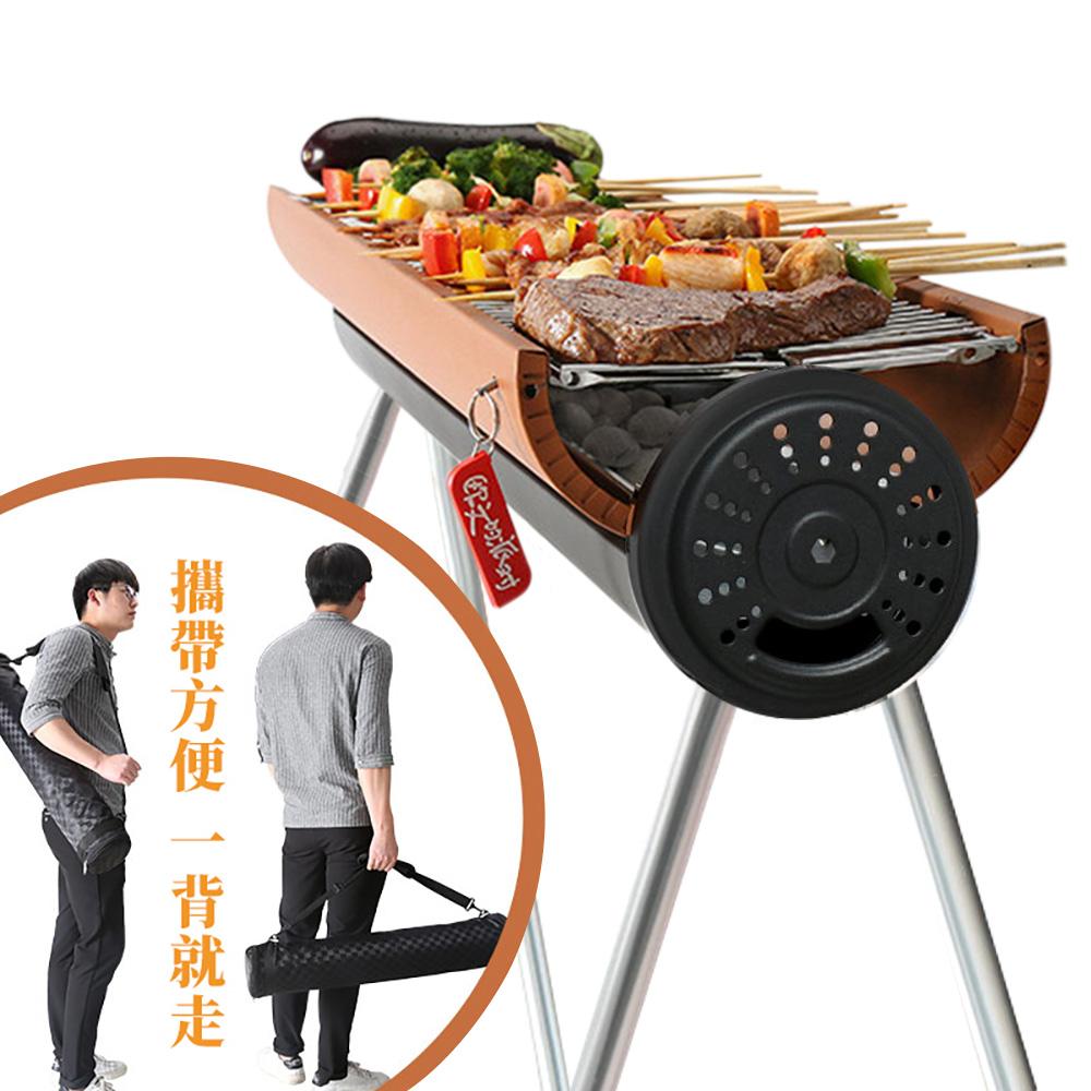 歐文火影時尚戶外燒烤爐BBQ/烤肉架/派對烤肉