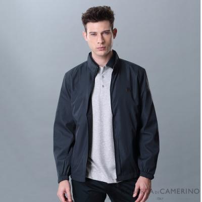ROBERTA諾貝達 休閒時尚 細格紋夾克外套 深藍