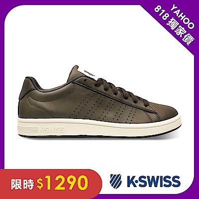 K-SWISS Court Casper S 休閒運動鞋-男-咖啡