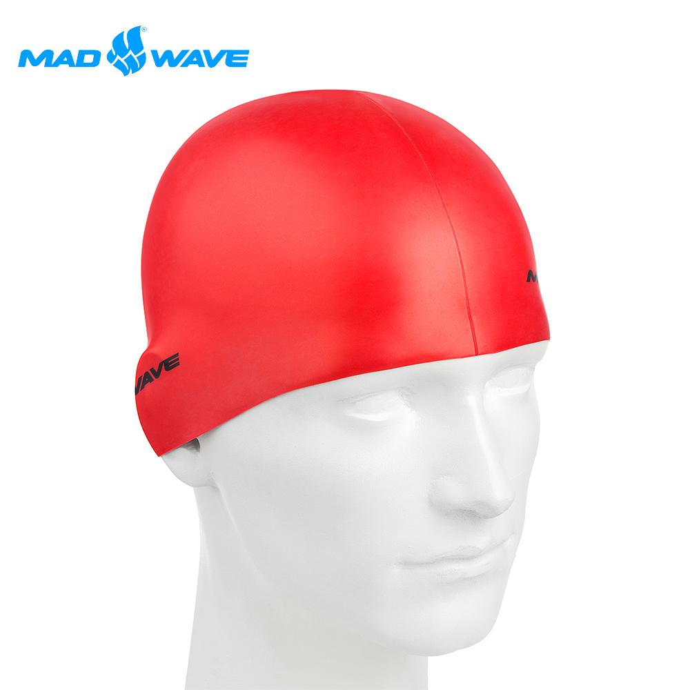 俄羅斯 邁俄威 矽膠泳帽 MADWAVE METAL
