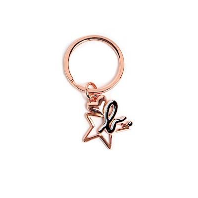 agnes b. 星星 b. LOGO鑰匙圈