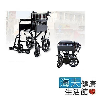 海夫 必翔 經濟型看護鋁合金輪椅 PH-163C