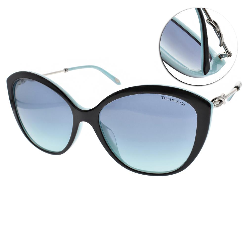 Tiffany&CO.太陽眼鏡 優雅貓眼/黑#TF4144BF 80559S
