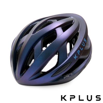 KPLUS 單車安全帽S系列公路競速-VITA Helmet-GALAXY幻彩紫藍