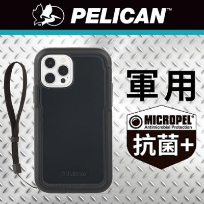 美國 Pelican 派力肯 iPhone 12 Pro Max 抗菌防摔殼 Marine Active 陸戰隊輕裝版 - 黑