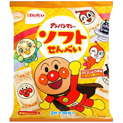 栗山 麵包超人軟仙貝(101g)
