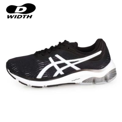 ASICS 女 慢跑鞋-D GEL-PULSE 11 黑白