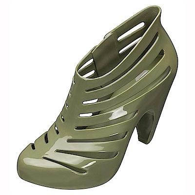 MELISSA 魚骨造型踝靴-綠