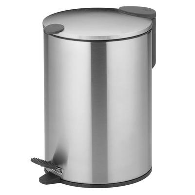 《KELA》Mats腳踏式垃圾桶(白3L)