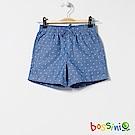 bossini女童-印花輕便短褲02天藍