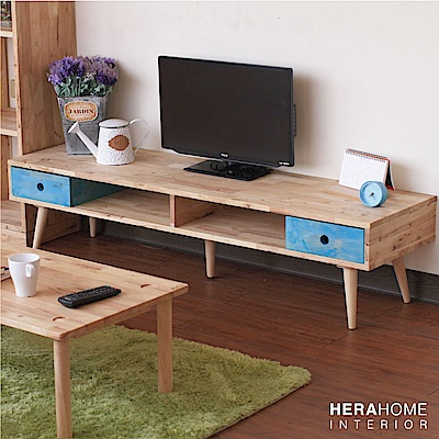 HERA Home Amon 5尺原木電視櫃-DIY-150x40x36cm