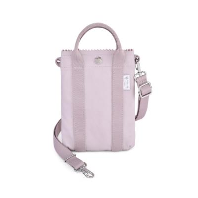 PORTER - 生活選物PUFF輕便隨身小包 - 藕粉紫