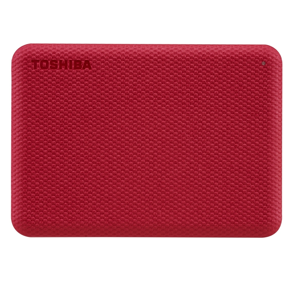 TOSHIBA 東芝 V10 Canvio Advance 先進碟 1TB 2.5吋外接式硬碟 (紅)