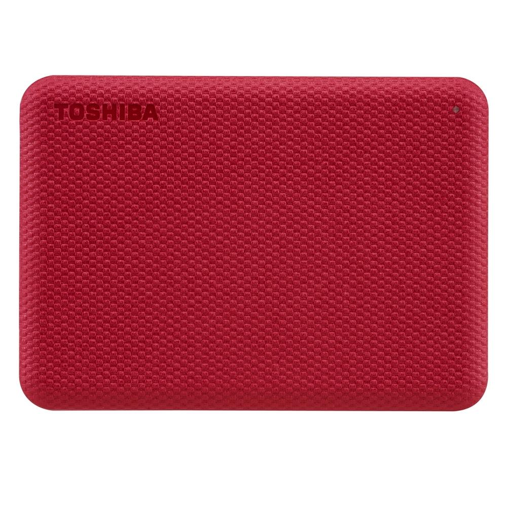TOSHIBA 東芝 V10 Canvio Advance 先進碟 4TB 2.5吋外接式硬碟 (紅)