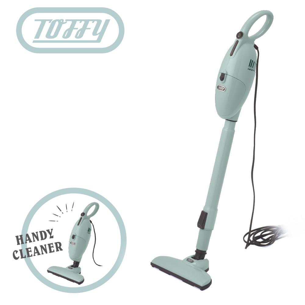 日本Toffy 2 in 1 手持式吸塵器 馬卡龍綠