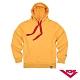 【PONY】長袖素色大學帽T  情侶款  T恤 中性款黃色 product thumbnail 1