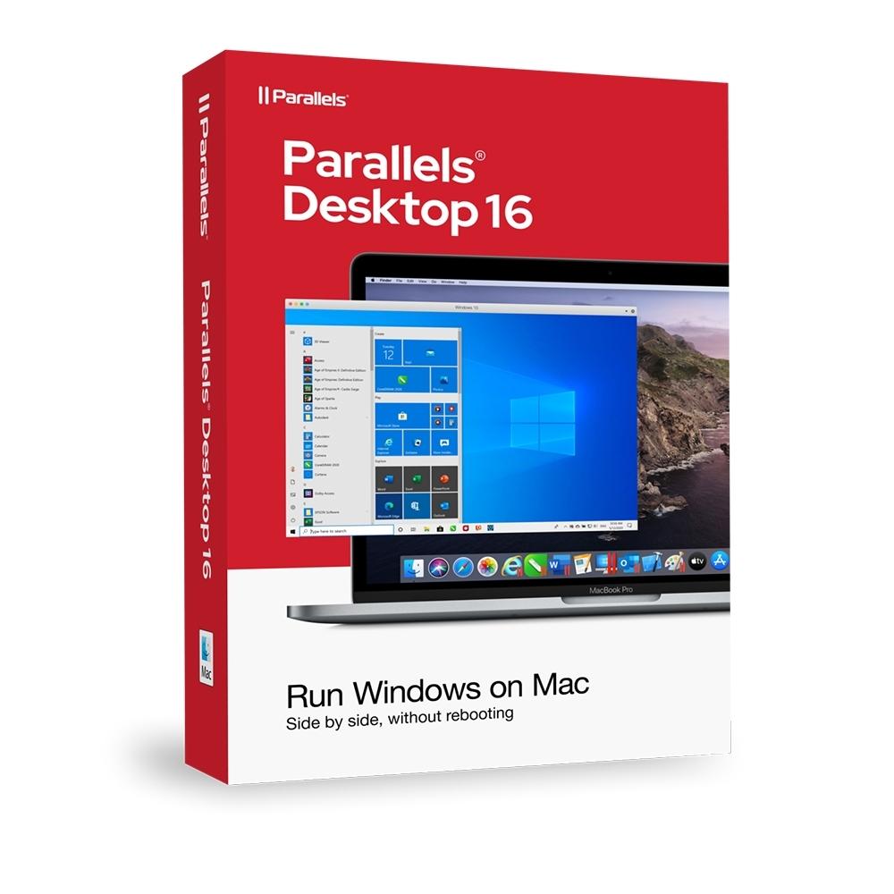 Parallels Desktop 16 for Mac 標準版