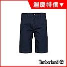Timberland 男款深寶石藍彈力卡其短褲|A1LV9