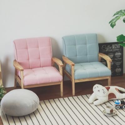 (限時下殺) Home Feeling 日系兒童沙發/單人座/布沙發(3色)-DIY