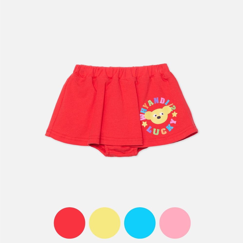 WHY AND 1/2 mini 棉質萊卡褲裙 多色可選 1Y ~ 4Y