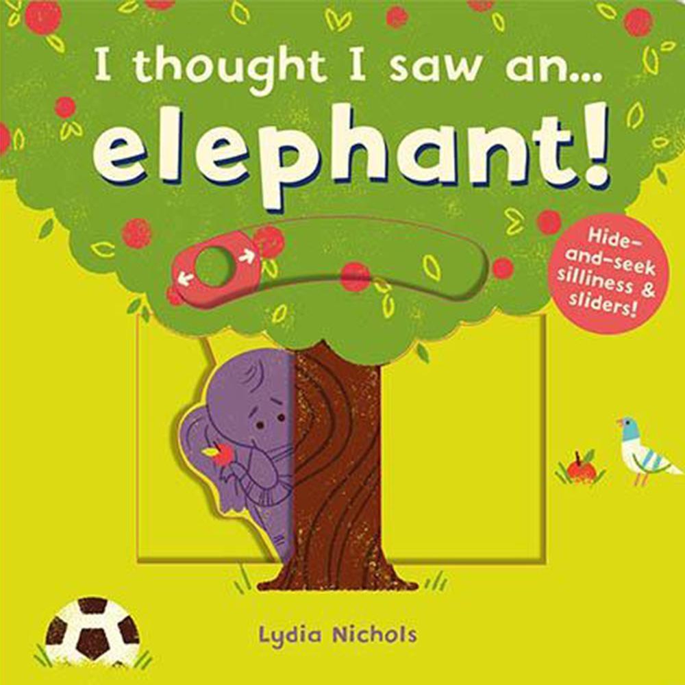 I Thought I Saw An...Elephant! 大象玩捉迷藏硬頁操作書
