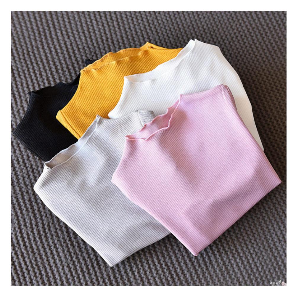 【韓品童裝】女童 中小童糖果色長袖內搭衣