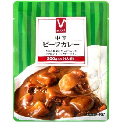 V select Valor中辛咖哩調理包 (200g)
