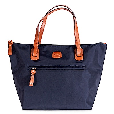 BRICS 義大利 深藍色 女仕包兼旅行袋 小