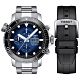 TISSOT天梭 Seastar 限量海洋之星計時潛水機械錶-48mm  T1206141104100 product thumbnail 1
