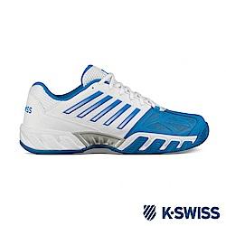 K-SWISS Bigshot Light 3輕量網球鞋-男-白/藍
