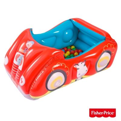 《凡太奇》Fisher-Price。賽車造型充氣球池(附25顆球) 93520