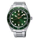 SEIKO 精工SRPB93J1 5號綠水鬼機械腕錶-44m