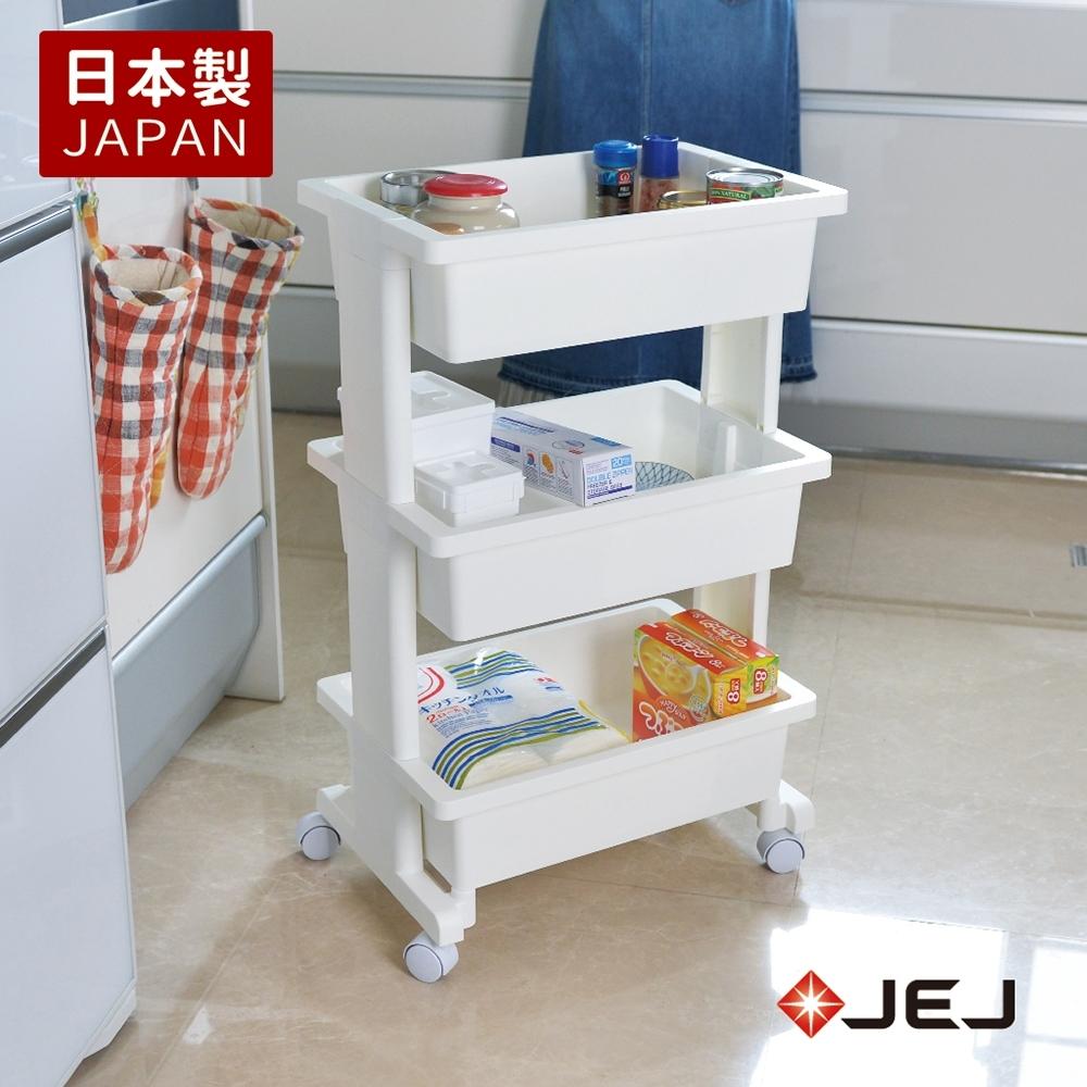 【nicegoods】日本製 JEJ活動式收納置物三層推車