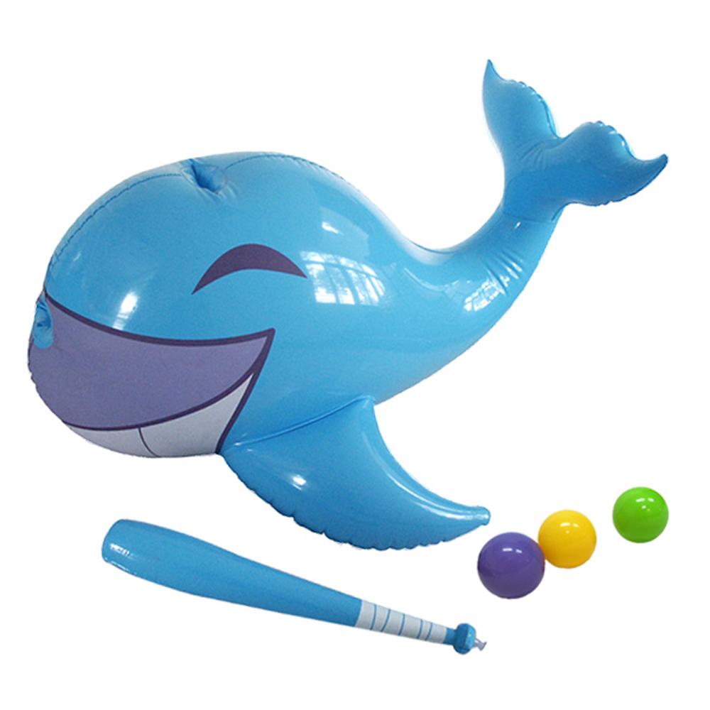 《凡太奇》美國品牌【Bestway】49X37X24互動動物擊球器-鯨魚