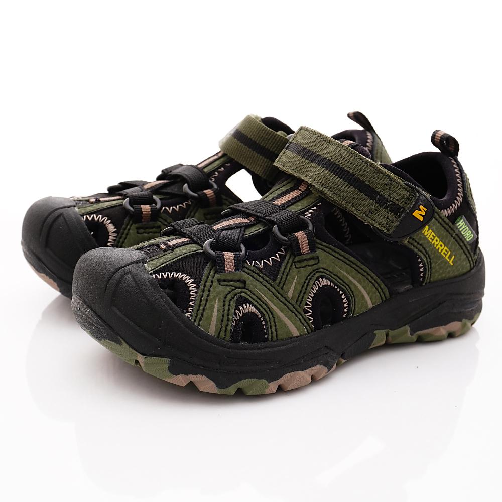 MERREL頂級童鞋 HYDRO護趾涼鞋款 TW60856綠(中大童段)