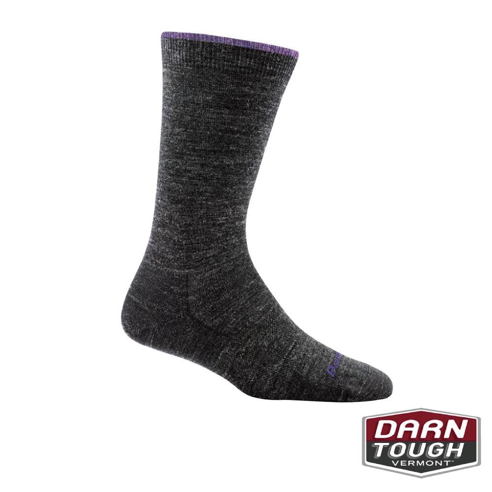 【美國DARN TOUGH】女羊毛襪SOLID BASIC生活襪(2入隨機)