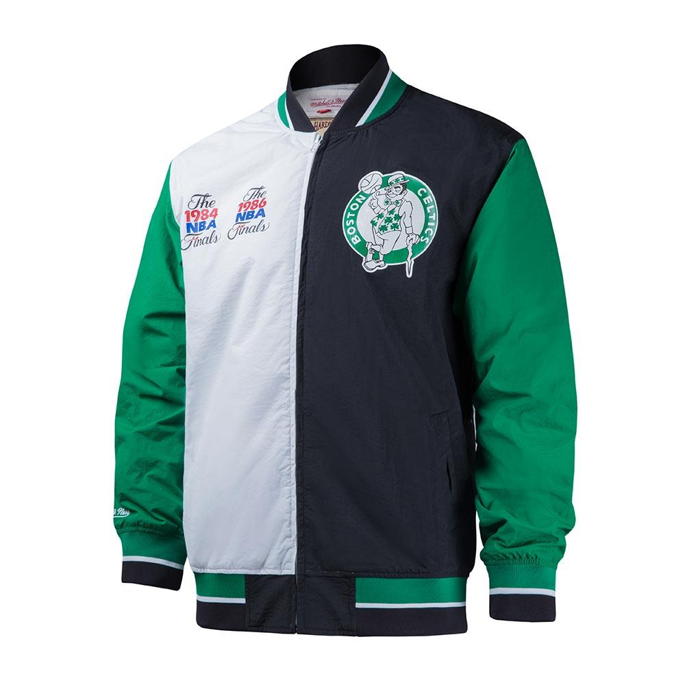 M&N NBA復古經典熱身外套 塞爾提克