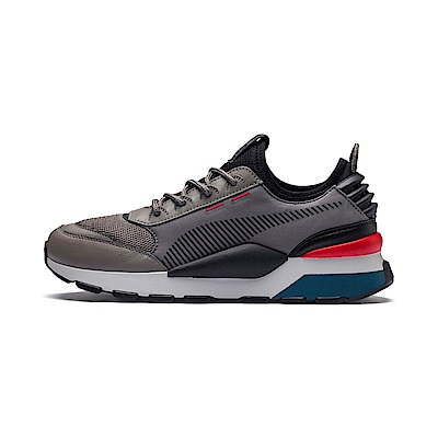 PUMA-RS-0 TRACKS 男女慢跑鞋-棕炭灰