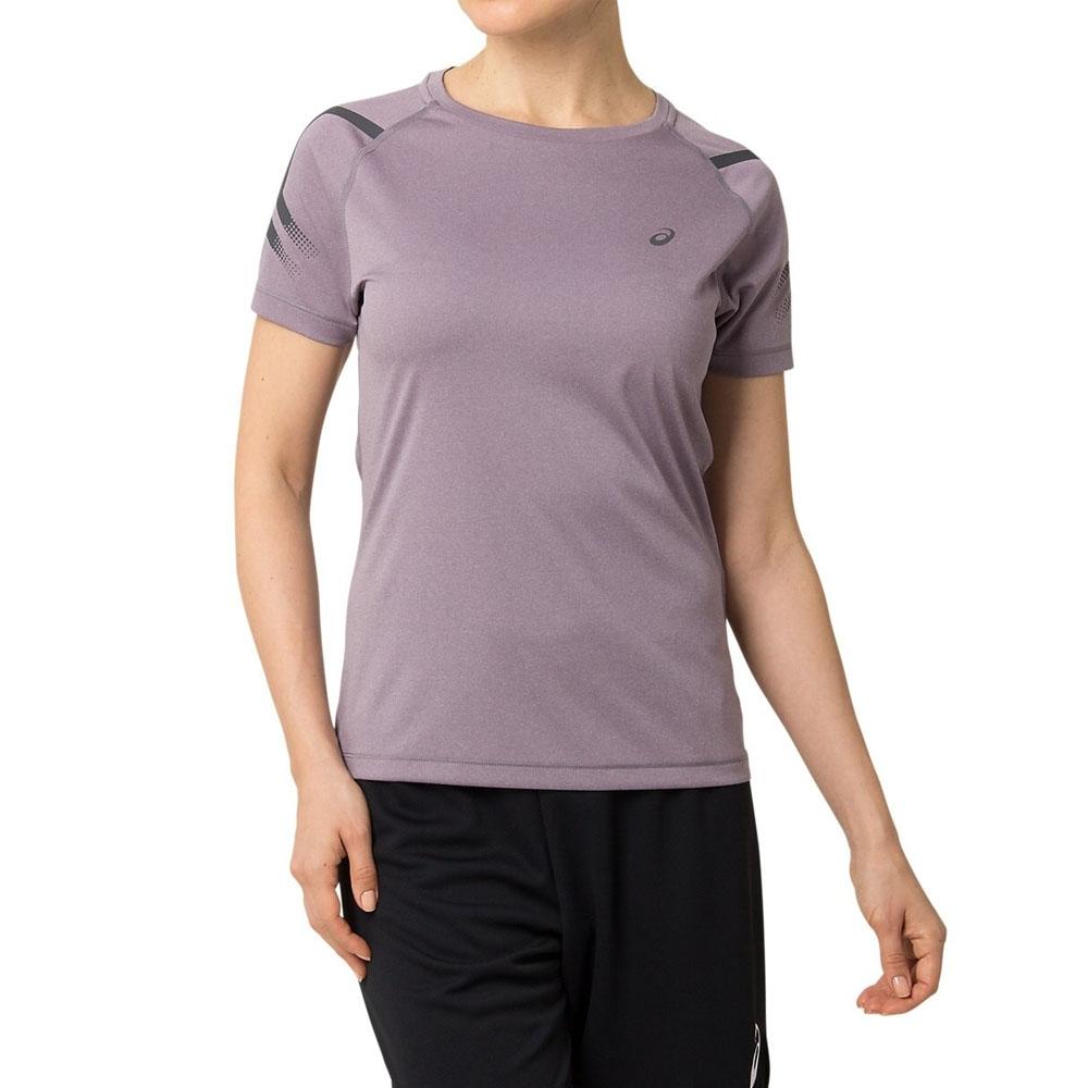 ASICS 短袖上衣 女  154702-500(紫)