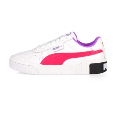 PUMA 女 休閒運動鞋 Cali Chase Wn s 白桃紅紫