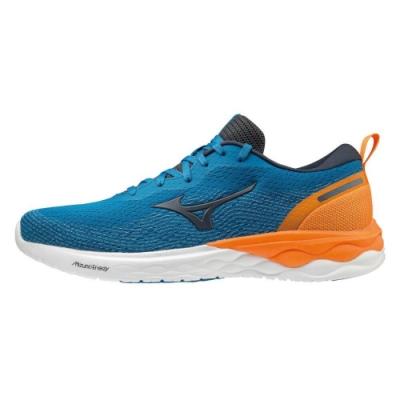 MIZUNO REVOLT 男 跑步鞋 藍-J1GC208146