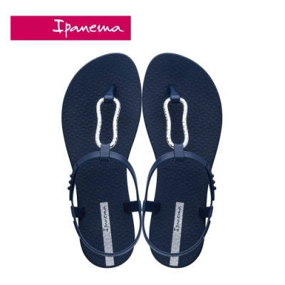 Ipanema  CLASS MOOD FEM美好氛圍T字涼鞋-深藍