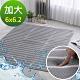 鴻宇 雙人加大水洗6D透氣循環墊 涼墊 可水洗 矽膠防滑(不含枕墊) product thumbnail 1