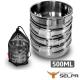 【韓國SELPA】304不鏽鋼四件式碗 500ml 摺疊把手 product thumbnail 1