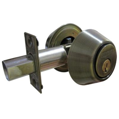 雙面鎖匙輔助鎖 D282 雙面鎖 輔助鎖 雙面均需鑰匙開啟 室內室外均需鑰匙 防盜性強