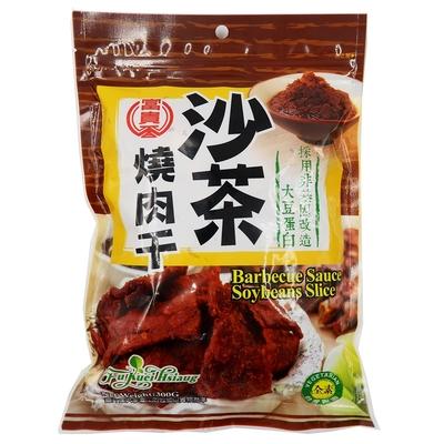 富貴香 沙茶燒肉干 純素 300g*3包