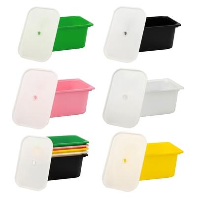 【日居良品】多彩大收納盒2入組-含蓋(5色可選)
