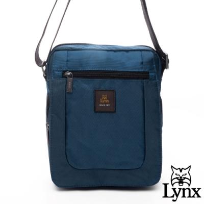 Lynx - 美國山貓休閒防潑水多功能好收納斜背包