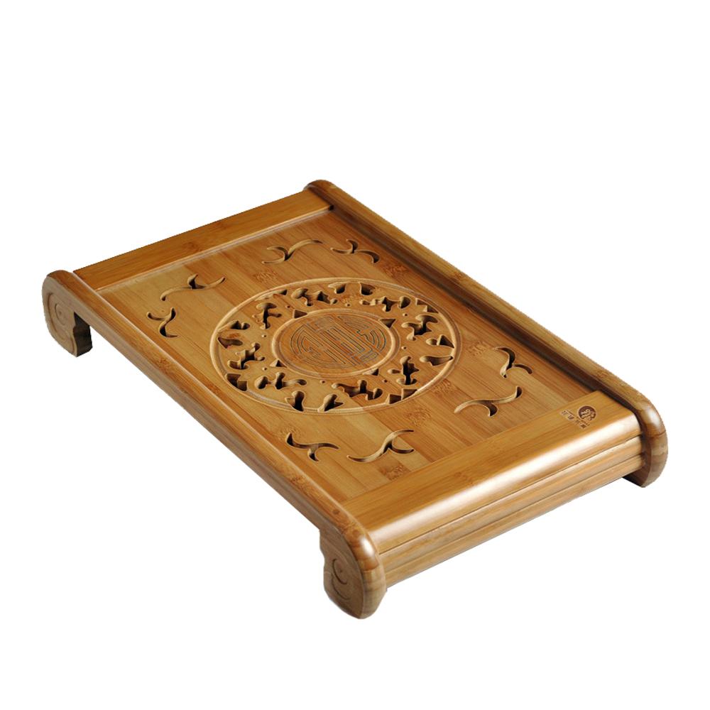 【原藝坊】天然竹福孔明茶盤