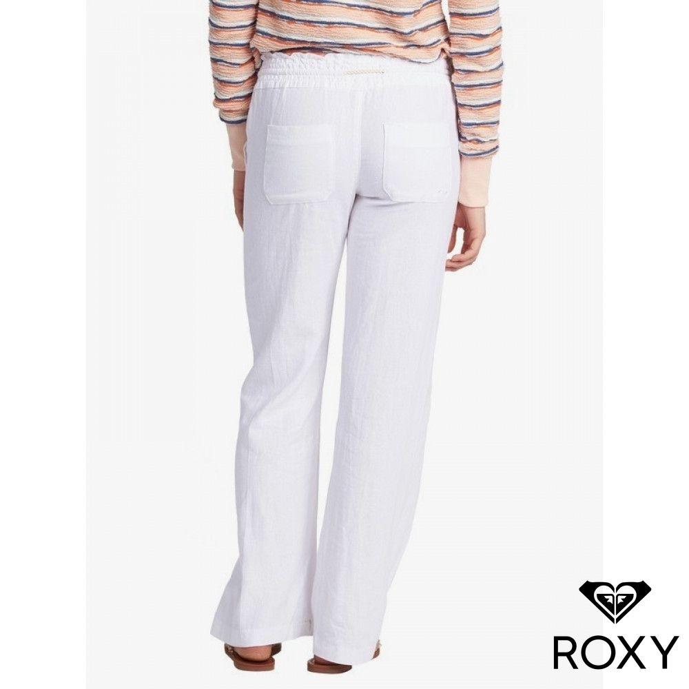 【ROXY】OCEANSIDE PANT 長褲 白色